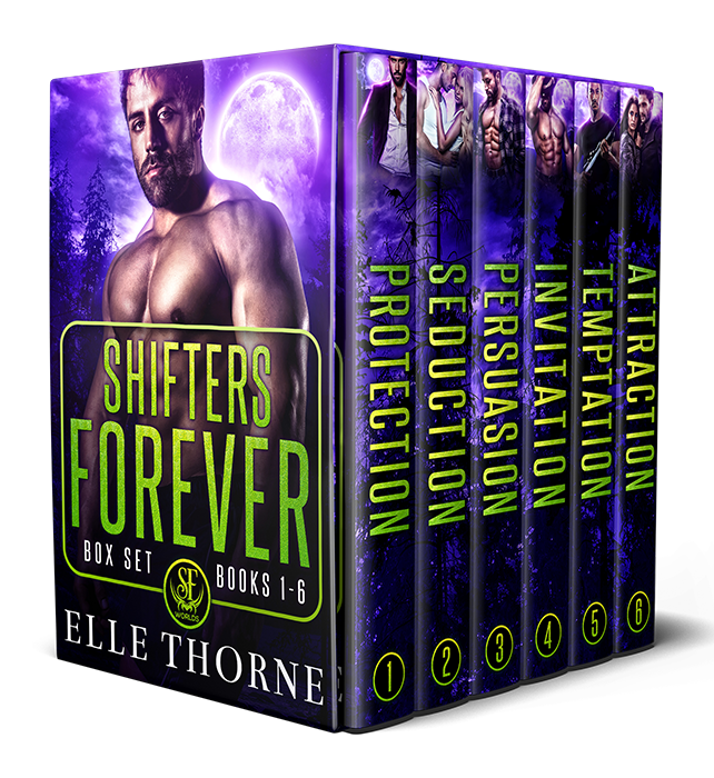 Book Cover: Shifters Forever Boxed Set: Books 1-6