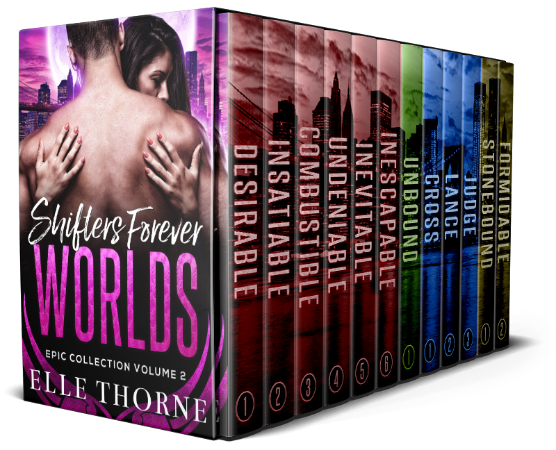 Book Cover: Shifters Forever Worlds Epic Collection Volume 2